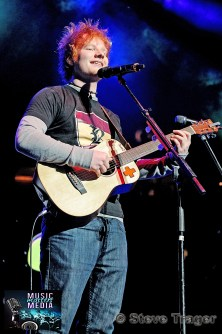 ED SHEERAN Q102 JINGLE BALL 2012 WELLS FARGO CENTER PHILADELPHIA PA 05