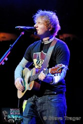 ED SHEERAN Q102 JINGLE BALL 2012 WELLS FARGO CENTER PHILADELPHIA PA 20