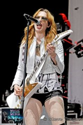 HALESTORM 93.3 WMMRBQ 2012 SUSQUEHANNA BANK CENTER CAMDEN NEW JERSEY 02