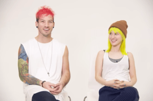 Hayley Williams & Josh Dun