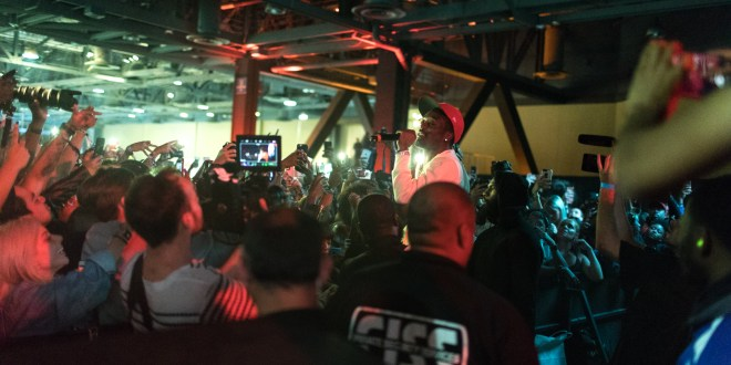 best sneakers 7f6d3 ecbe9 ComplexCon Day Two Recap Full of Celebrity Surprise Guests including  G-Eazy, DJ Khaled, Usher, + More