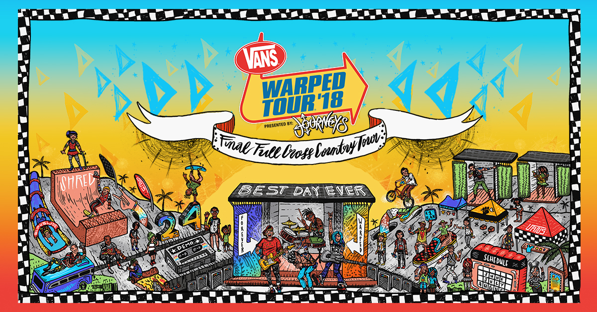 vans tour