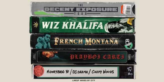a19946329071 Wiz Khalifa Announces The Decent Exposure Summer Tour – Music Mayhem ...