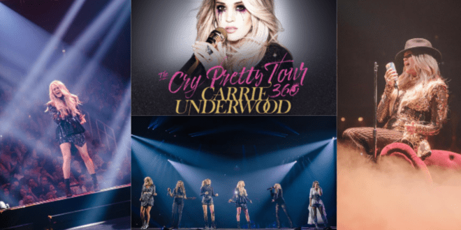 Carrie Underwood Kicks Off Cry Pretty 360 Tour In