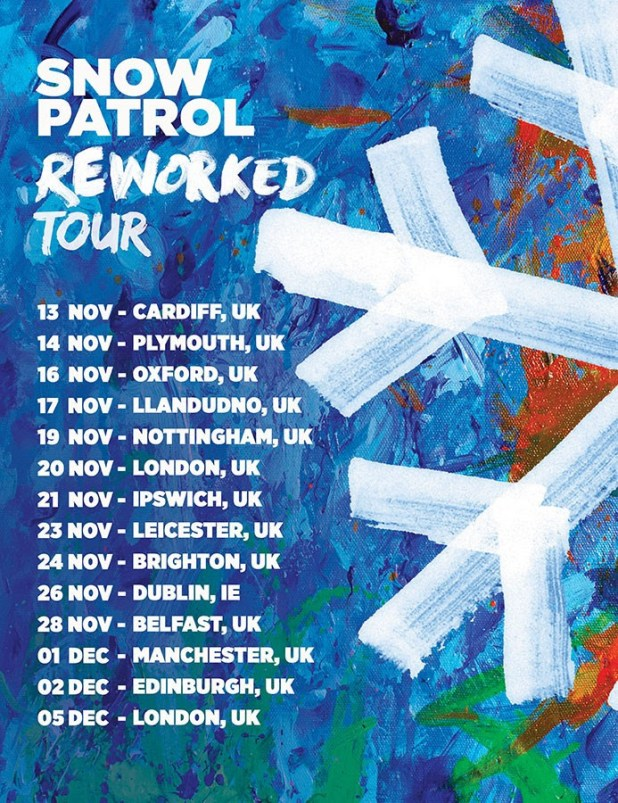 Snow Patrol Announce Reworked Tour of The UK and Ireland