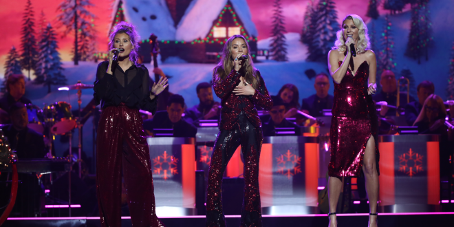 "Runaway June performs at the 2019 ""CMA Country Christmas"" special filmed at Belmont's Curb Center in Nashville, Tennessee. ""CMA Country Christmas"" will air on Tuesday, December 3 on ABC."