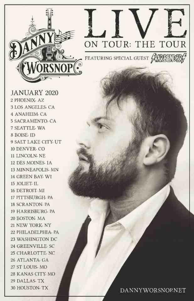 Danny Worsnop Tour Dates 2020