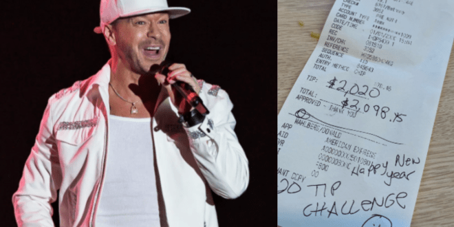 New Kids On The Block's Donnie Wahlberg