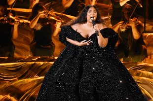 Lizzo at GRAMMYs