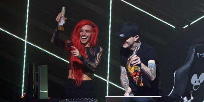 Photos Deadmau5 Lights On Cube V3 Tour In