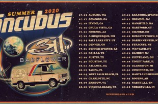 Incubus and 311 Tour Dates