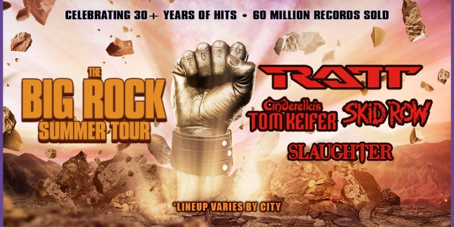 RATT, Cinderella's Tom Keifer, Skid Row and Slaughter