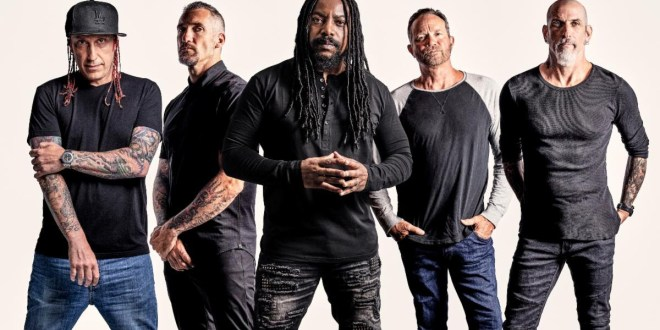 Sevendust; Photo by Travis Shinn/Chuck Brueckmann