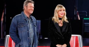 Blake Shelton and Taylor Swift; Photo by Trae Patton/NBC