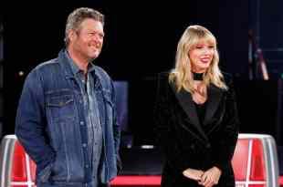Blake Shelton and Taylor Swift; Photo by Trae Patton/NBC