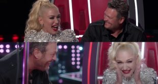 Blake Shelton and Gwen Stefani; Photo Courtesy of The Voice 2020