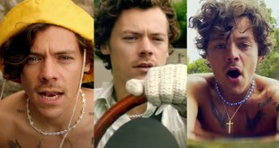 "Harry Styles; Photos Courtesy of ""Golden"" Music Video"