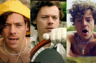 """Harry Styles; Photos Courtesy of """"Golden"""" Music Video"""