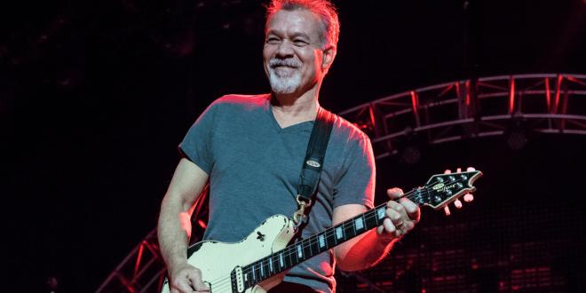 Eddie Van Halen; Photo by Andrew Wendowski