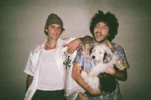 Justin Bieber and Benny Blanco; Photo by Matt Adam