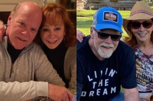 Reba McEntire & Rex Linn; Photos Courtesy of Social Media