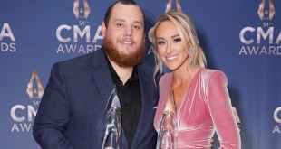 Luke Combs and Nicole Hocking Combs; Photo Courtesy of CMA