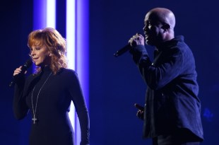 Reba McEntire and Darius Rucker; Photo Courtesy of CMA
