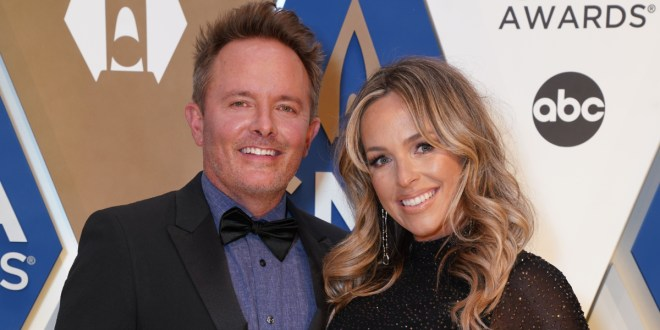 Chris Tomlin And Wife Lauren; Photo Courtesy of CMA