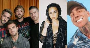All Time Low, Demi Lovato, Blackbear; Photos Courtesy of Facebook