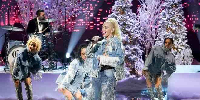 Gwen Stefani; Photo by: Chris Haston/NBC