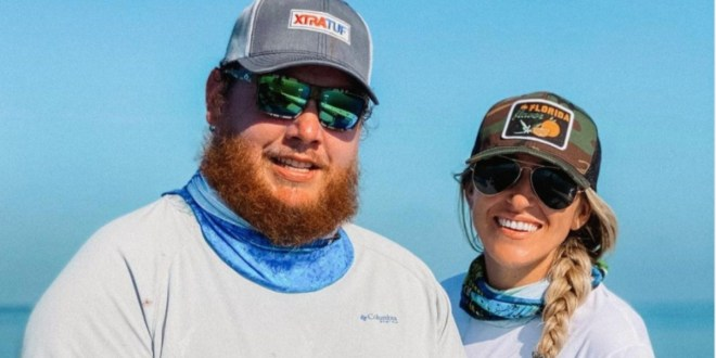 Luke Combs And Nicole Hocking Combs; Photo Courtesy of Instagram