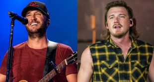 Luke Bryan And Morgan Wallen; Photos By Andrew Wendowski