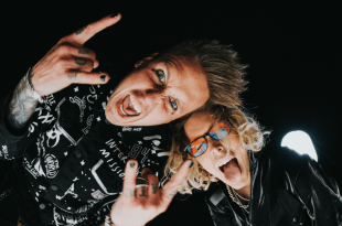 Papa Roach and Jeris Johnson; Photo By Stephanie Moser