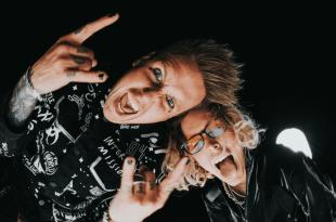 Papa Roach and Jeris Johnson; Photo By Stephanie Moser