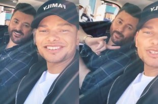 Kane Brown and Chris Young; Photo Courtesy of Instagram