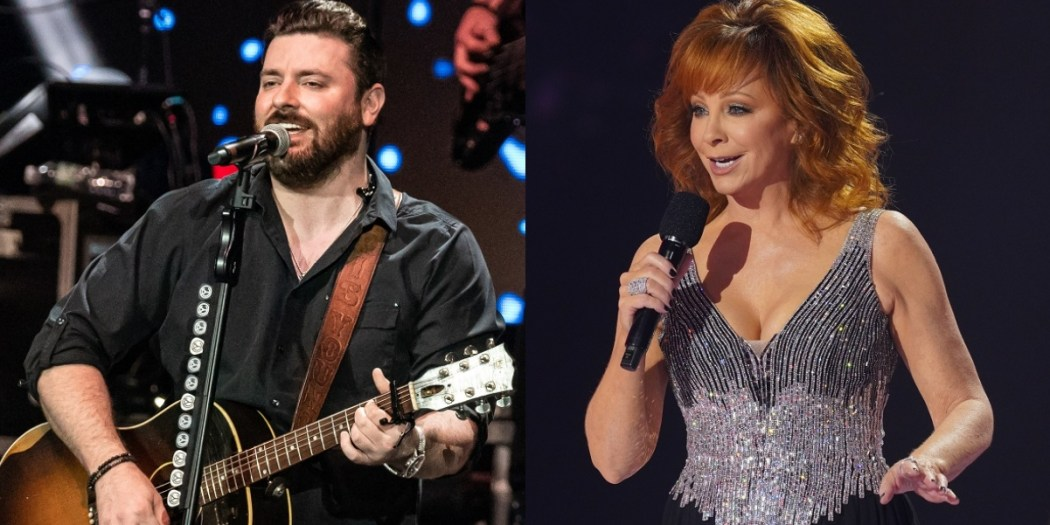Chris Young, Photo By Andrew Wendowski; Reba McEntire, Photo Courtesy Of CMA
