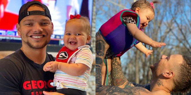 Kane Brown and His Daughter Kingsley; Photos Courtesy of Instagram