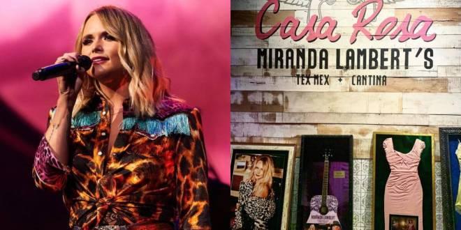 Miranda Lambert; Photo Courtesy of Instagram