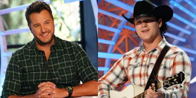 Luke Bryan and Caleb Kennedy; Photo Courtesy Of ABC