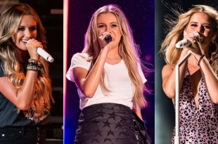Carly Pearce, Kelsea Ballerini, Maren Morris; Photos by Andrew Wendowski