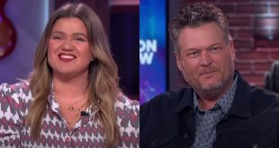 Kelly Clarkson and Blake Shelton; Photo Courtesy of NBC