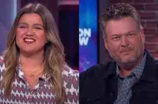 Kelly Clarkson and Blake Shelton; Photo Courtesy of NBC