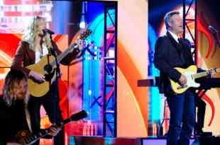 Jordan Matthew Young and Blake Shelton; Photo Courtesy of NBC