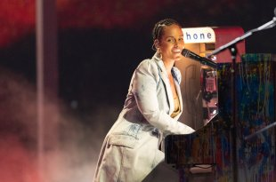 Alicia Keys; Photo by Christopher Polk/NBC
