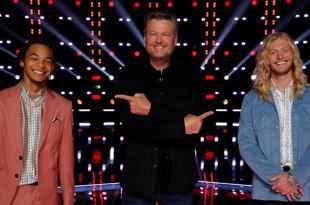 Cam Anthony, Blake Shelton and Jordan Matthew Young; Photo Courtesy of NBC