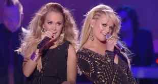 Carrie Underwood and Miranda Lambert; Photo Courtesy of CMT (YouTube)