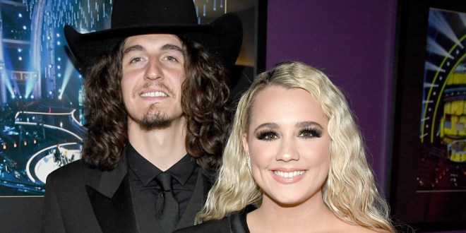 Cade Foehner and Gabby Barrett; Photo Courtesy Getty Images for iHeartRadio
