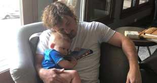 Morgan Wallen and Son Indigo; Photo Courtesy of Instagram