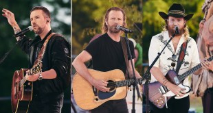 Brothers Osborne and Dierks Bentley; Photo Courtesy of Getty Images/CMT