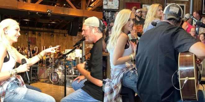 Blake Shelton & Gwen Stefani; Courtesy of Instagram Fan Photos